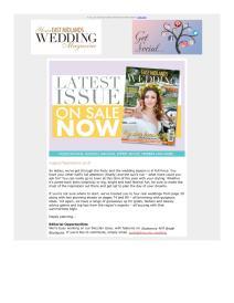 Your East Midlands Wedding magazine - September 2018 newsletter