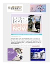 Your Berks, Bucks and Oxon Wedding magazine - September 2018 newsletter