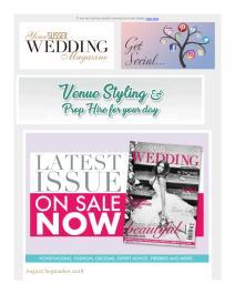Your Sussex Wedding magazine - September 2018 newsletter