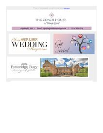 Your Herts and Beds Wedding magazine - September 2018 newsletter