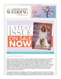 Your Hampshire and Dorset Wedding magazine - September 2018 newsletter