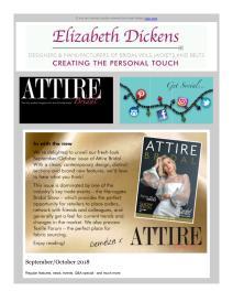 Attire Bridal magazine - September 2018 newsletter