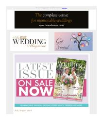 An Essex Wedding magazine - September 2018 newsletter