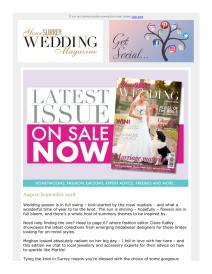 Your Surrey Wedding magazine - September 2018 newsletter