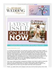 Your West Midlands Wedding magazine - September 2018 newsletter