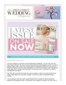 Your Bristol and Somerset Wedding magazine - October 2018 newsletter