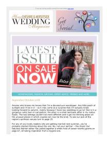 Your Cheshire & Merseyside Wedding magazine - September 2018 newsletter