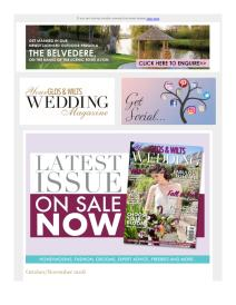 Your Glos & Wilts Wedding magazine - October 2018 newsletter