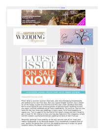 Your Hampshire and Dorset Wedding magazine - October 2018 newsletter