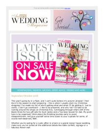 An Essex Wedding magazine - October 2018 newsletter