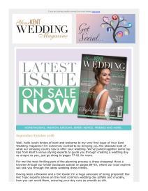 Your Kent Wedding magazine - October 2018 newsletter