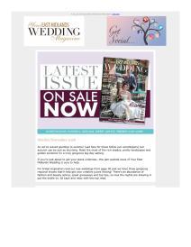 Your East Midlands Wedding magazine - October 2018 newsletter