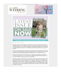 Your Sussex Wedding magazine - October 2018 newsletter
