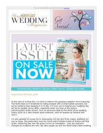 Your North East Wedding magazine - October 2018 newsletter