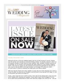 Your Surrey Wedding magazine - October 2018 newsletter
