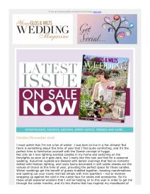 Your Glos & Wilts Wedding magazine - November 2018 newsletter