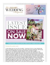 Your Glos & Wilts Wedding magazine - November 2018 newsletter