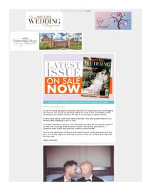 Your Herts & Beds Wedding magazine - November 2018 newsletter