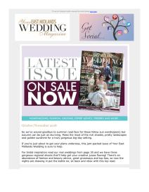 Your East Midlands Wedding magazine - November 2018 newsletter