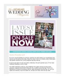 Your East Midlands Wedding magazine - November 2018 newsletter