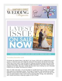 Your Hampshire & Dorset Wedding magazine - November 2018 newsletter
