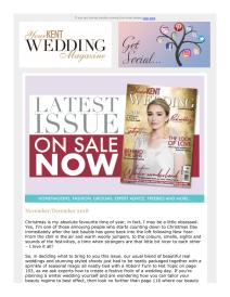 Your Kent Wedding magazine - November 2018 newsletter