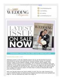 Your Surrey Wedding magazine - November 2018 newsletter