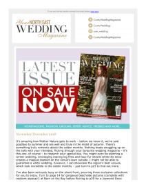 Your North East Wedding magazine - November 2018 newsletter