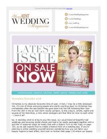 Your Kent Wedding magazine - December 2018 newsletter