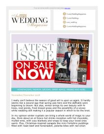 An Essex Wedding magazine - December 2018 newsletter