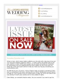 Your Cheshire & Merseyside Wedding magazine - December 2018 newsletter