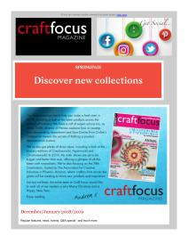 Craft Focus magazine - December 2018 newsletter