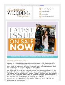 Your East Midlands Wedding magazine - December 2018 newsletter