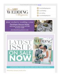 Your Surrey Wedding magazine - December 2018 newsletter