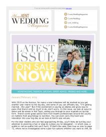 Your Kent Wedding magazine - January 2019 newsletter