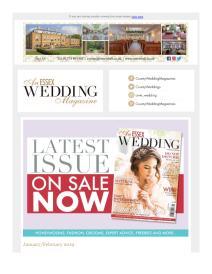 An Essex Wedding magazine - January 2019 newsletter