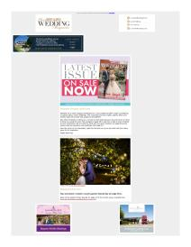 Your Herts & Beds Wedding magazine - January 2019 newsletter