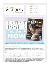 Your Sussex Wedding magazine - January 2019 newsletter