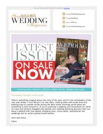 Your Glos & Wilts Wedding magazine - January 2019 newsletter