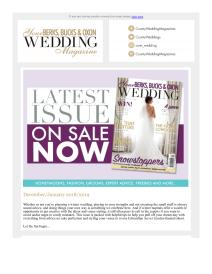 Your Berks, Bucks and Oxon Wedding magazine - January 2019 newsletter