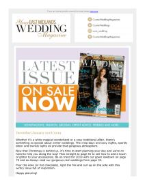 Your East Midlands Wedding magazine - January 2019 newsletter