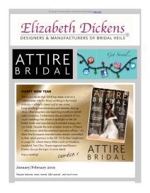 Attire Bridal magazine - January 2019 newsletter