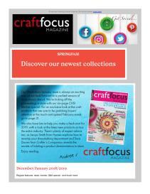 Craft Focus magazine - January 2019 newsletter