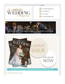 Your North East Wedding magazine - February 2019 newsletter