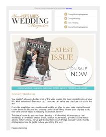 Your Herts & Beds Wedding magazine - March 2019 newsletter