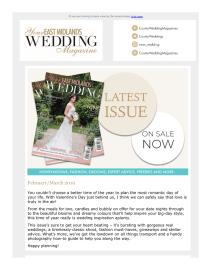 Your East Midlands Wedding magazine - March 2019 newsletter