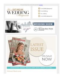 Your East Anglian Wedding magazine - March 2019 newsletter