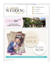 Your Glos & Wilts Wedding magazine - May 2019 newsletter