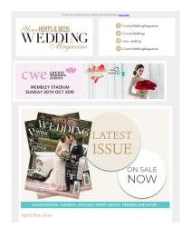 Your Herts & Beds Wedding magazine - May 2019 newsletter