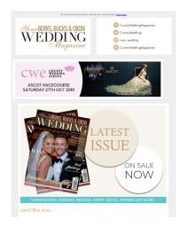 Your Berks, Bucks & Oxon Wedding magazine - May 2019 newsletter